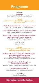 Arzt-Patienten-Seminar Pankreaserkrankungen - Seite 2