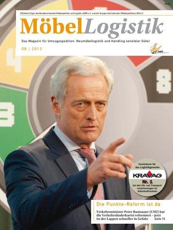 Ausgabe 8 2013 2,4 MB | PDF - moebellogistikmagazin.de