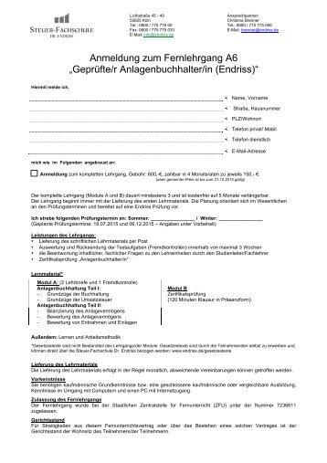 Download Anmeldeformular Anlagenbuchhalter - Steuer ...