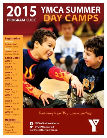 YMCA Day Camp Guide 2015 feb13 web