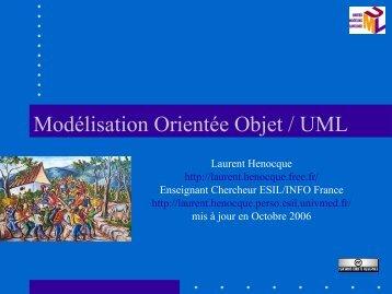 Modélisation Orientée Objet / UML - Laurent Henocque