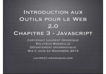 script - Laurent Henocque