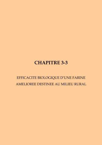 CHAPITRE 3-3 - Nutridev