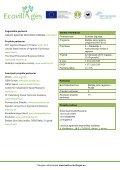 Detali informacija apie projektą - Ecovillages - Page 2