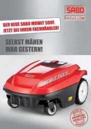 Der SABO MOWiT Flyer als PDF - Fischer Landmaschinen