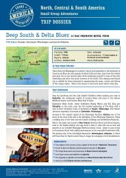 Deep South & Delta Blues 12 Day premium hotel tour - Adventure ...