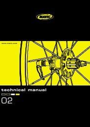 technical manual - tech mavic