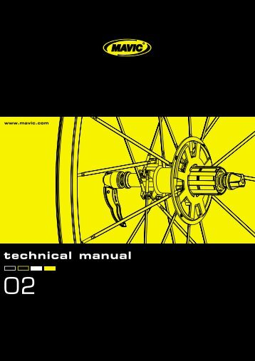 technical manual - tech mavic