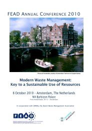 Modern Waste Management: Key to a Sustainable Use of Resources