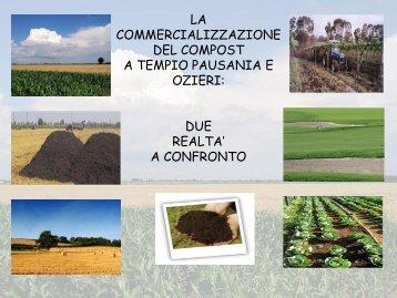 La commercializzazione del compost a Tempio Pausania e Ozieri