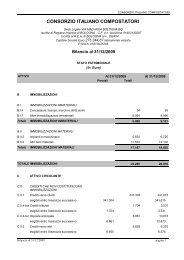 Progetto di bilancio consuntivo 2009.pdf - Consorzio Italiano ...