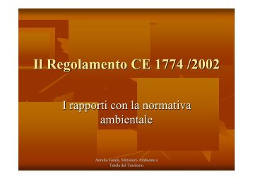 L'applicazione - Consorzio Italiano Compostatori