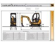 JCB MINI EXCAVATORS | 8018 JC B MINI EX CA V A TOR S 8018