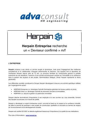 Herpain - Deviseur Confirmé - Monroyaume.be
