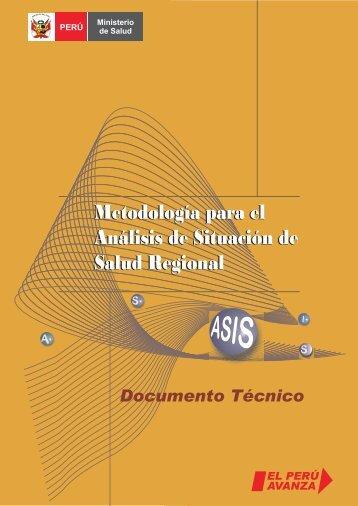 Metodología para el Análisis de Situación de Salud Regional ...