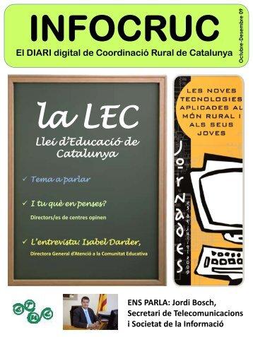 la llei d'educació. flexibilitat i territori - Coordinació Rural de Catalunya