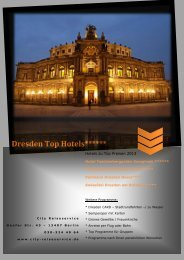 Dresden Top Hotels - City-reiseservice.de