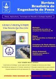 Revista Repesca - Engenharia de Pesca - Uema