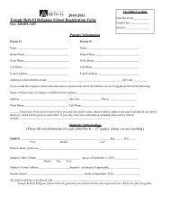 2010-2011 Temple Beth El Religious School Registration Form