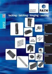 Locking, Latching, Hinging & Sealing - Custom Component Sales, LLC