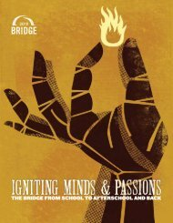 Bridge conference workshop listings - School's Out Washington