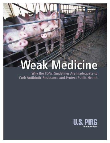 Weak Medicine USPIRG