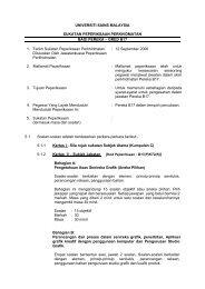 Pereka (B17) - Jabatan Pendaftar - Universiti Sains Malaysia