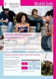Mobil Info 2008. március - T-Mobile