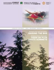 SFM Network Annual Report/Réseau GDF Rapport Annuel 2004 (ie ...