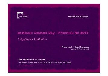 2. Arbitration - DLA Piper WIN