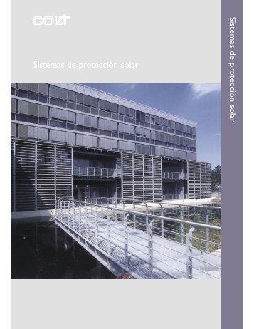 Sistemas de protección solar Sistemas de protección solar - Alarmatic