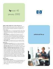 hp e-pc 42 january 2002
