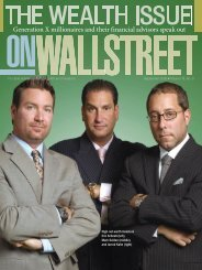 The Wealth Issue on Wall Street
