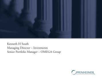 The South Group - Branch Locator - Oppenheimer & Co. Inc.