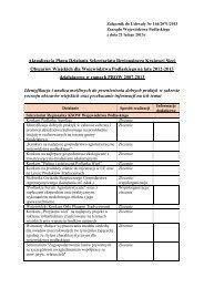 Aktualizacja Planu Działania Sekretariatu ... - podlaskie - KSOW