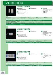 Zubehör ( LED-Leuchtmittel,Transformatoren etc.) - mobilux GmbH