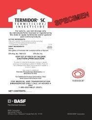 Termidor SC - McGrath Pest Control