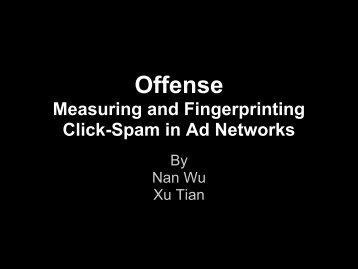 Offense - Northwestern Networks Group