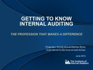 Getting to Know Internal Auditing GOM