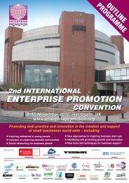 IEPC 8pp Programme - Enterprise Promotion Convention