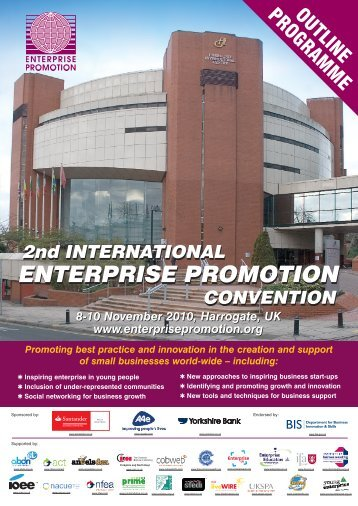 IEPC 8pp Programme - Enterprise Promotion Convention