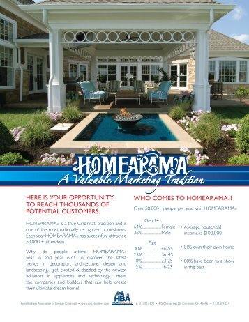 homearama - BuilderFusion - Home Builders Association of Greater ...