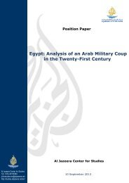 Egypt: Analysis of an Arab Military Coup in the Twenty-First Century