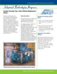 Casting Porosity-Free, Grain Refined Magnesium Alloys - E-smarrt.org