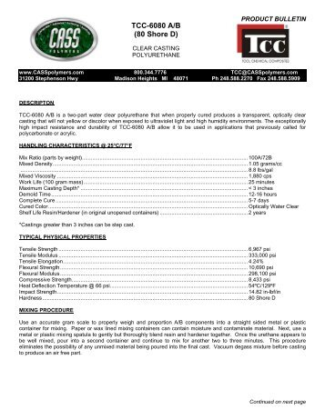 PRODUCT BULLETIN - Tool Chemical Company