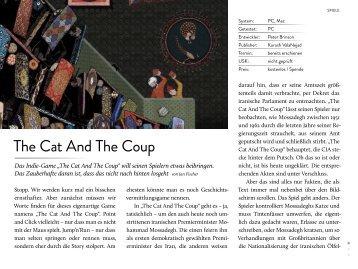 "Das Indie-Game ""The Cat And The Coup"" will seinen Spielern etwas ..."