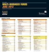 multi-manager funds june 2012 - Seven Investment Management