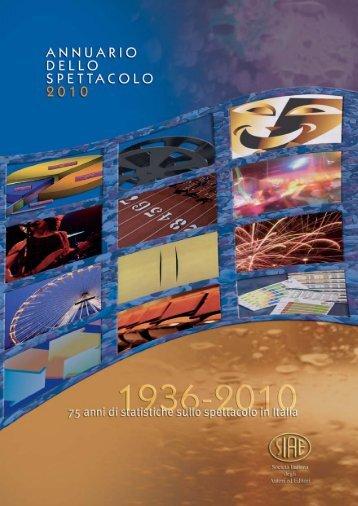 l'Annuario dello Spettacolo 2010 - Siae