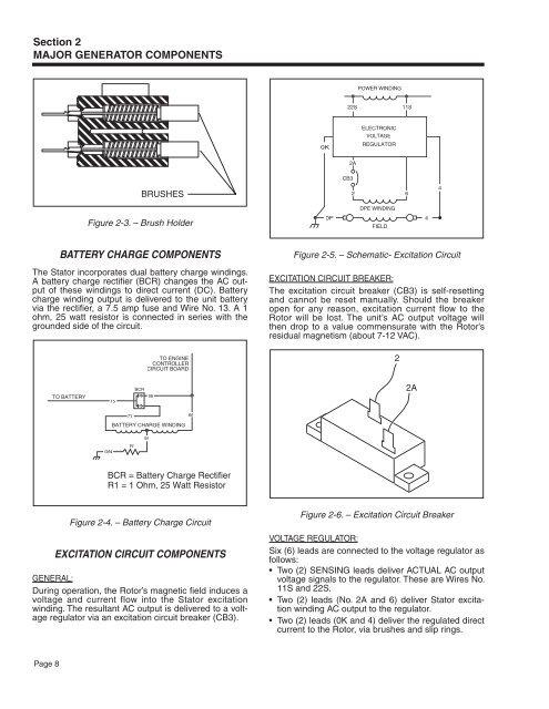 Section 2 Major Generator