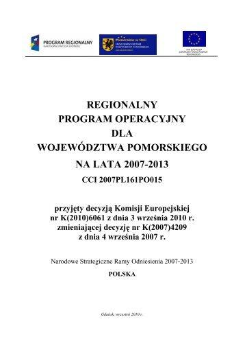 RPO WP - Regionalny Program Operacyjny Województwa ...